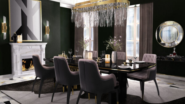 Few interesting ideas to make your Dining room elegant